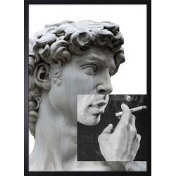 Obraz posąg dawida z...
