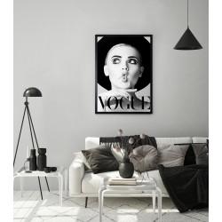 Obraz vogue kobieta z dziubkiem