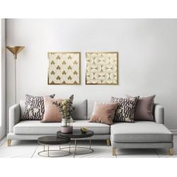 Obraz art deco beige No.1
