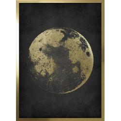 Obraz księżyc nocą
