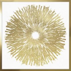 Obraz golden eye - white