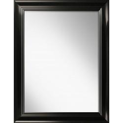 lustro roma czarne połysk