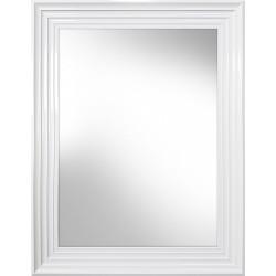 lustro malaga białe