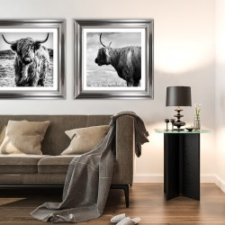 Obraz krowa szkocka II