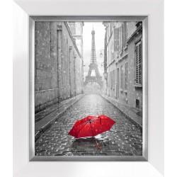 Obraz red umbrella in paris