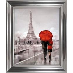 Obraz pair in love in paris