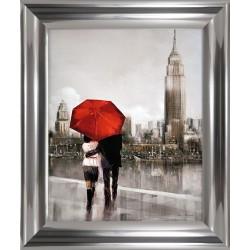 Obraz pair in love in new york