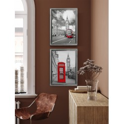 Obraz budka telefoniczna w Londynie