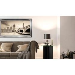 Obraz widok na Pałac Westminsterski z wieżą zegarową
