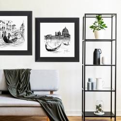 Obraz Wenecja gondole II