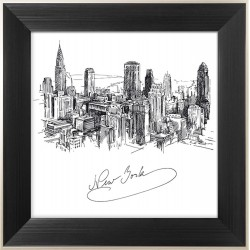 Obraz Drawing of New York City