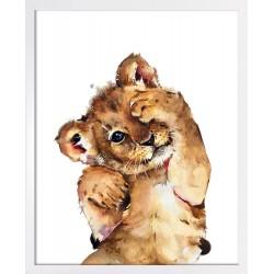 Obraz mały tygrysek