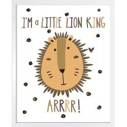 Obraz król lew