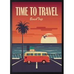 Obraz TIME TO TRAVEL
