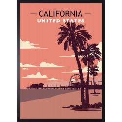 Obraz plaża California