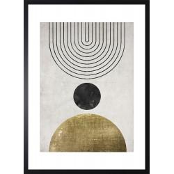Obraz ball gold zen