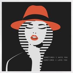 Obraz Woman in red Hat II
