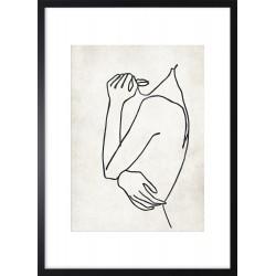 Obraz linear woman II