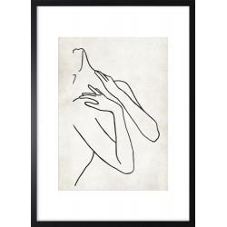 Obraz linear woman I