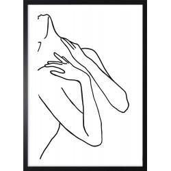 Obraz kobieca linia I