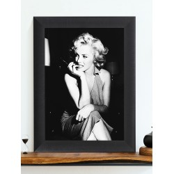 Obraz Marilyn Monroe black and white