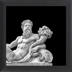 Obraz posąg greckiego boga...