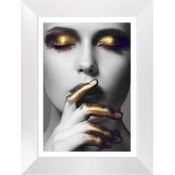 Obraz złote palce