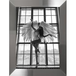 Obraz kobieta ze skrzydłami...