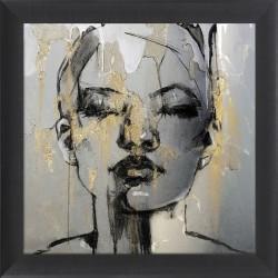 Obraz mural złota kobieta