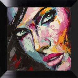 Obraz colorful face II