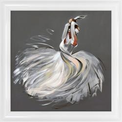Obraz baletnica w tańcu