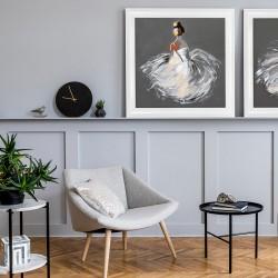 Obraz baletnica siedząca