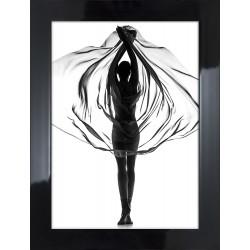Obraz tancerka z chustą I