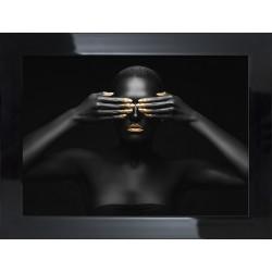 Obraz murzynka oczy