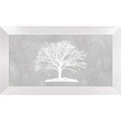 Obraz białe drzewo