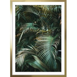 Obraz golden tropical forest I