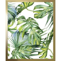 Obraz tropical monstera in...