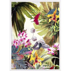 Obraz tropical flowers I