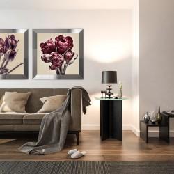 Obraz bordowe tulipany I
