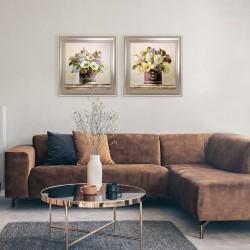 Obraz bukiecik kolorowych kwiatów II