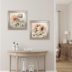 Obraz bukiet pastelowych kwiatów II