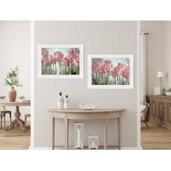 Obraz malowane tulipany I
