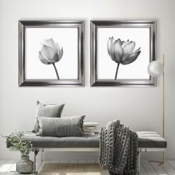 Obraz czarno biały tulipan I