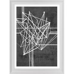 obraz abstrakcyjny linear