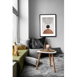 Obraz abstrakcyjny zen