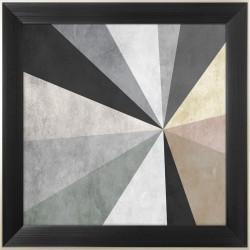 obraz kolorowe trójkąty