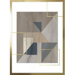 obraz mozaika z trójkątów