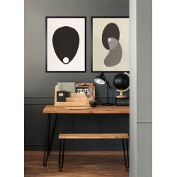 Obraz two ovals zen