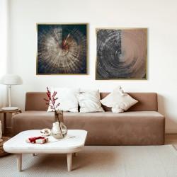 Obraz okrąg z gradientem
