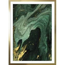 obraz gold marble